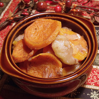 Sweet Potato Bake with Apples