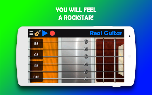 Real Guitar - Play the guitar never been so easy! 5.3 Screenshots 3