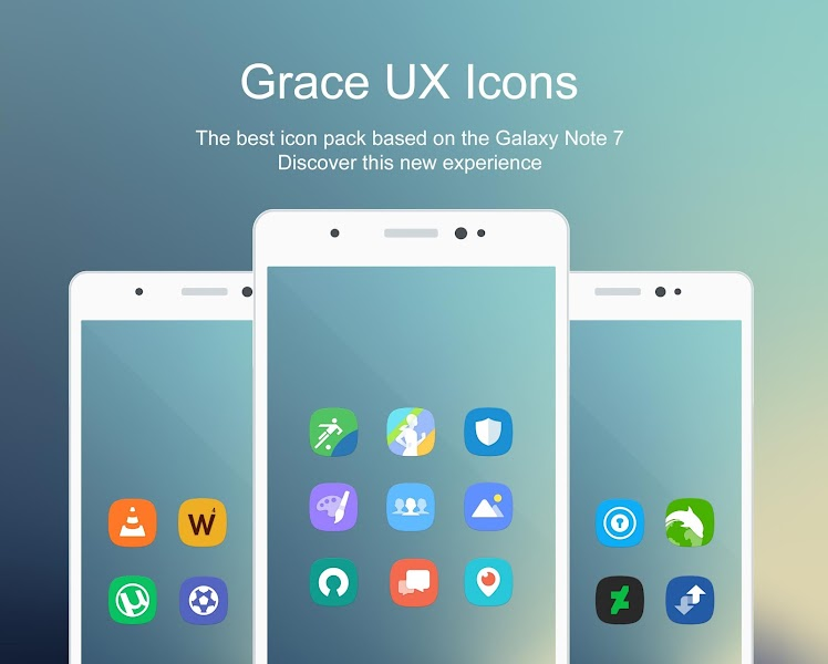 Grace UX – Icon Pack v5.6.4 [Patched]