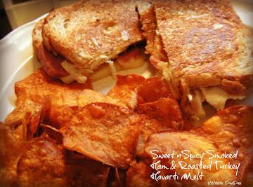 Sweet N Spicy Smoked Ham & Turkey Havarti Melt Recipe