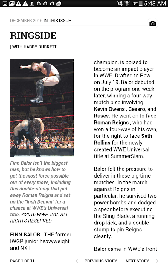 Pro Wrestling Illustrated- screenshot