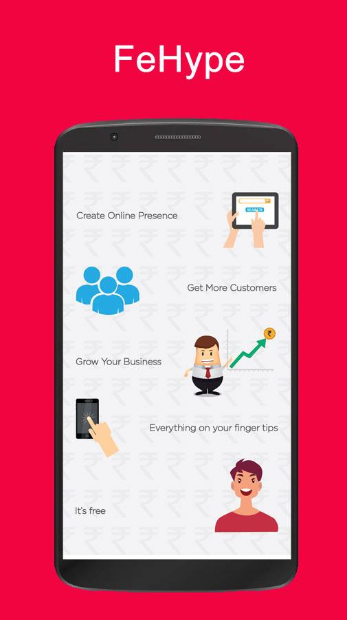 FeHype - Professional & Business Networking, UPI- screenshot