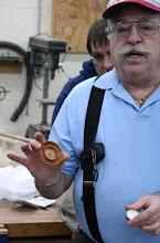 Photo: Elliot Schantz made a set of Cuban mahogany tea candle holders...