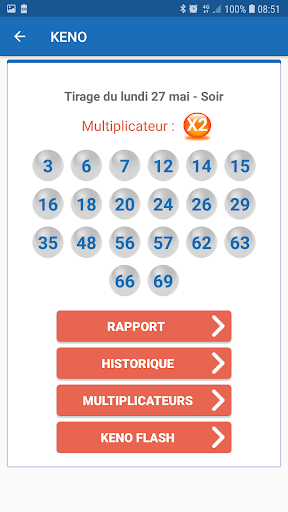 Ru00e9sultat Loto France 1.6 screenshots 4