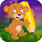 Best Escape Game 486 Writing Bear Rescue Game icon