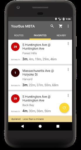 MBTA Boston Bus and Rail Tracker screenshots 2