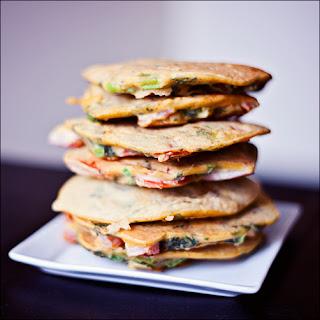 Spicy Chickpea Vegetable Pancakes – Gluten-free & Vegan