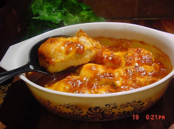 Bonnie's Apricot And Ginger Chicken