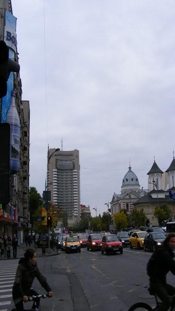 University Square and Intercontinental Hotel Bucharest