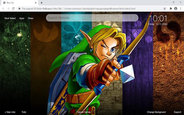 The Legend Of Zelda Wallpapers New Tab