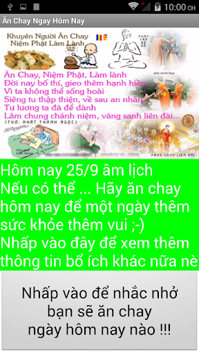 An Chay Hom Nay