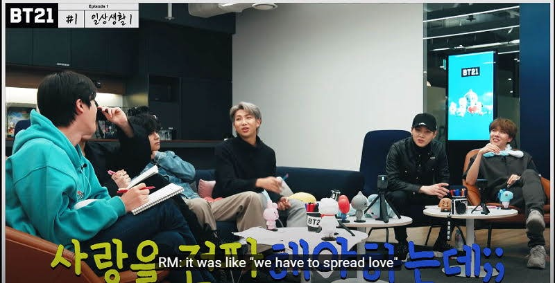 """BTS's Money Minded Brains drafted the """"Dark & Wild"""" Version of BT21 that Shouldn't be Aired"""