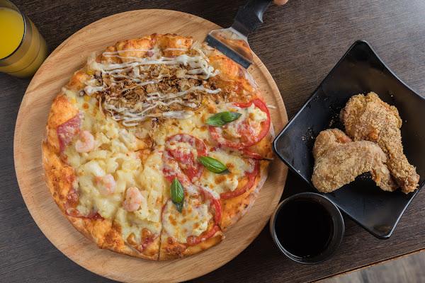 高雄美食 - Double Cheese 大樂店 x 279元起窯烤pizza炸雞義大利麵吃到飽