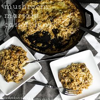 Mushroom Marsala Casserole