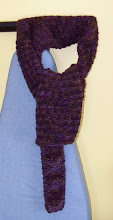 Photo: Completed 12 Feb 2010. Wool scarf.