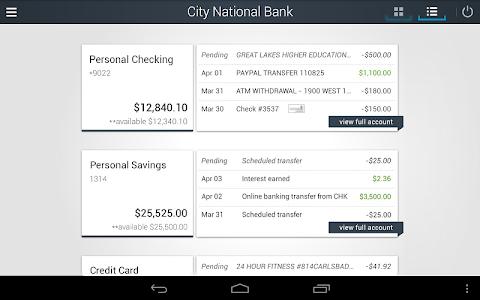 City National Bank of Florida screenshot 9