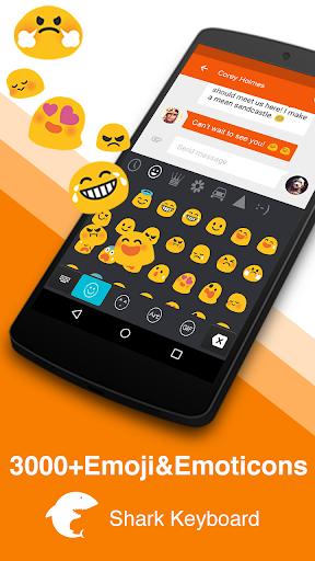 Rainy Glass Keyboard-Emoji