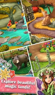 Mahjong Magic Lands: Fairy King's Quest 3