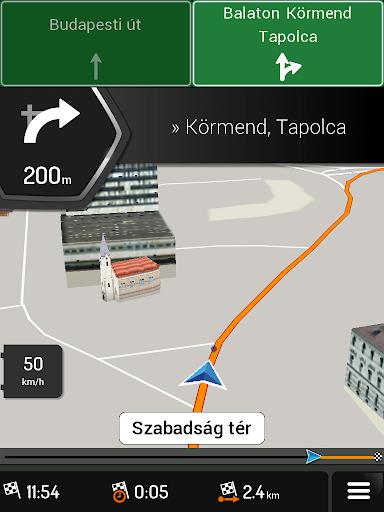 iGO Navigation SzülinApp screenshot 4