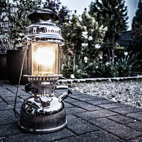 Storm Lantern by Axel K. Böttcher - Artistic Objects Technology Objects ( petroleum light, petromax, dawn, garden )