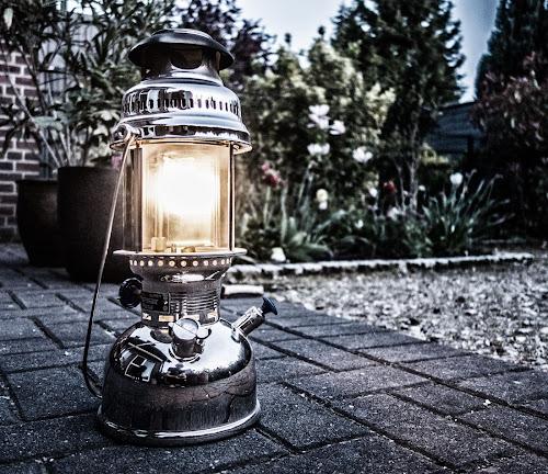 Storm Lantern by Axel K. Böttcher - Artistic Objects Technology Objects ( petroleum light, petromax, dawn, garden )