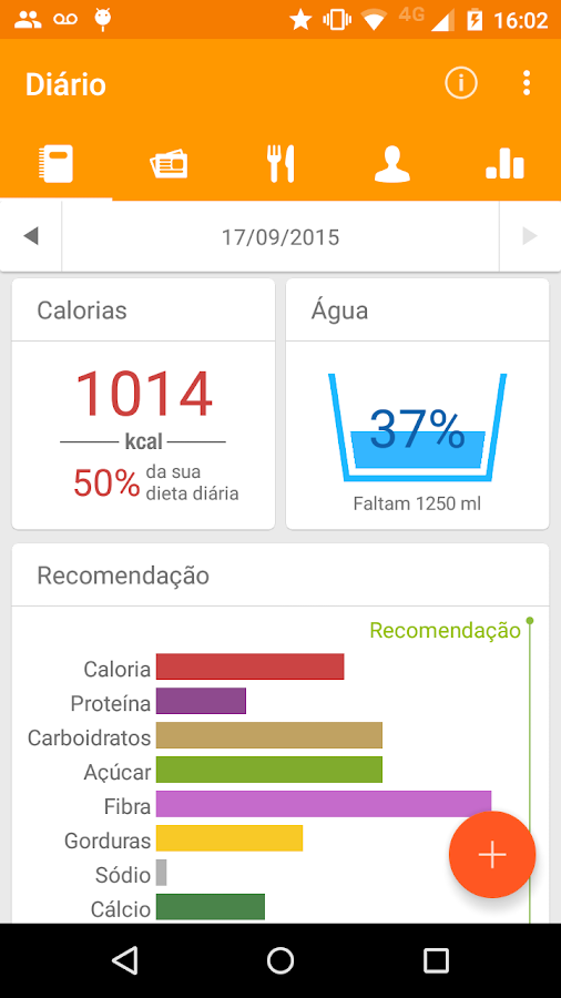 Tecnonutri- screenshot