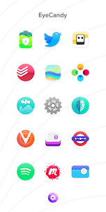Nebula Icon Pack for Android 5