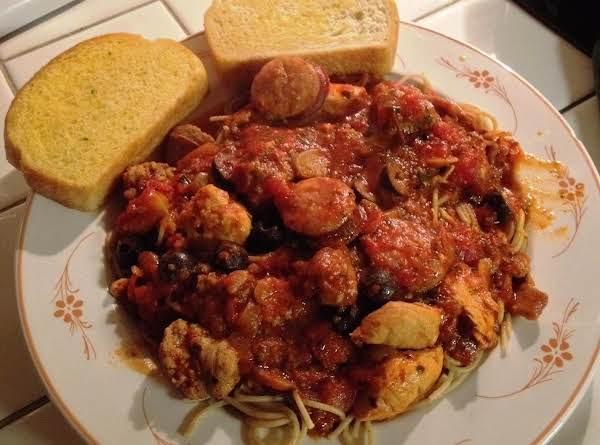 Hearty Ragu-style Pasta Sauce