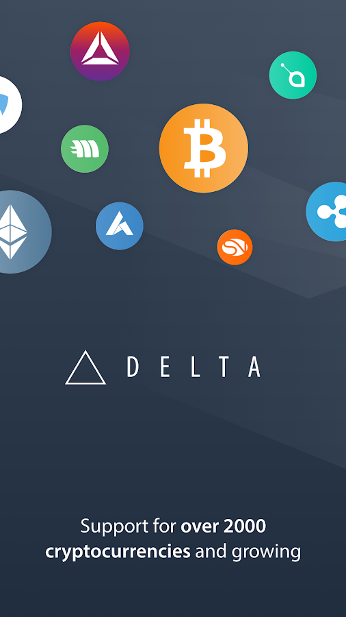 Delta - Bitcoin, ICO & Cryptocurrency Portfolio- screenshot