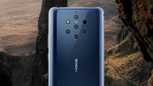 The Nokia 9 PureView.