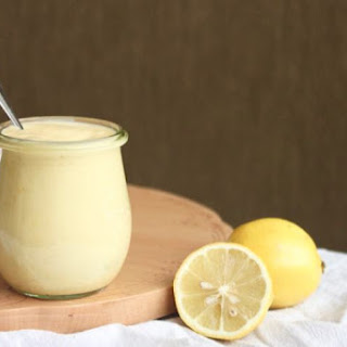 Dairy-Free Lemon Custard.