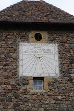 Photo: J21 : St Maurice sur Loire, cadran solaire