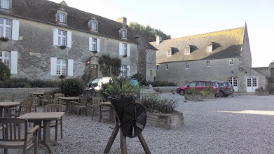Photo: Hotel courtyard