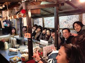 Photo: 澤先生の行きつけのラーメン屋にて