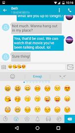 Handcent SMS Screenshot 3