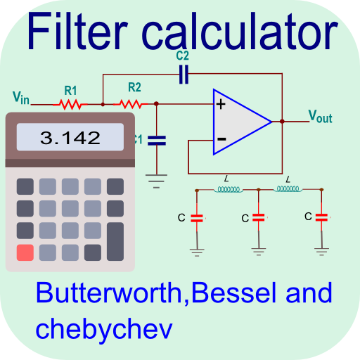 Pro Filter Calculator- RC, RL, RLC & Active Filter Android APK Download Free By Anas Abubakar