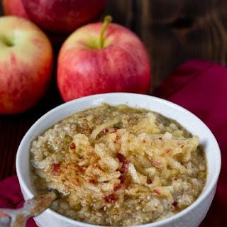 Apple Pie Quinoa Breakfast Bowl.