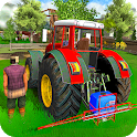 Village Farming Tractor Agriculture Happy Life 3D icon