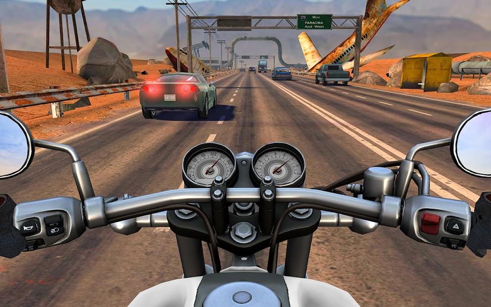 Moto Rider GO: Highway Traffic Android App Screenshot