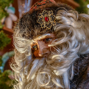 Mansion on O Street - 2018 Christmas Decorations - Antique Santa Doll.jpg