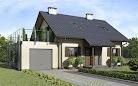 projekt domu D101 - Tobiasz wersja drewniana