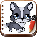 Draw Little Pets icon