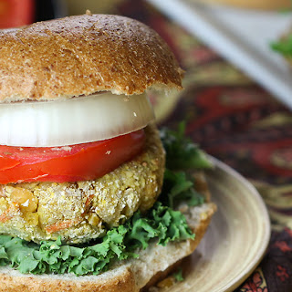 Indian Veggie Burger