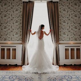 Stunning Aimie :) by Kaspars Sarovarcenko - Wedding Bride ( irish bride )