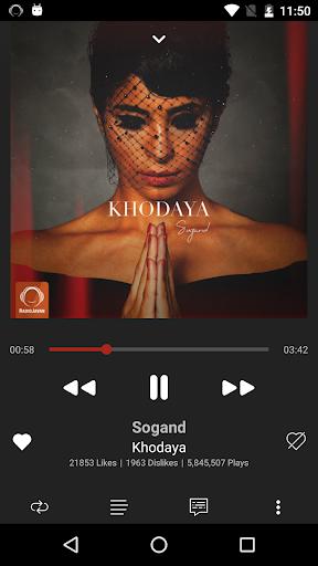 Radio Javan screenshot