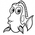 Draw Dory&Friends icon