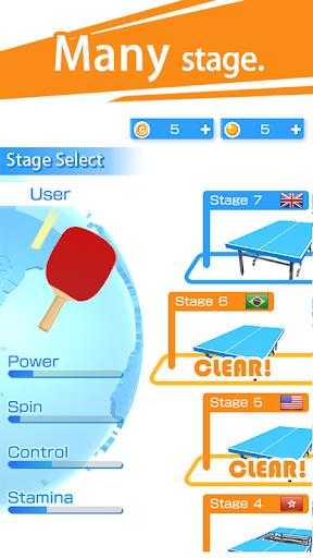 Table Tennis 3D Virtual World Tour Ping Pong Pro 1.2.3 screenshots 5