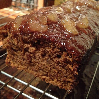 Spiced Ginger and Honey Cake.