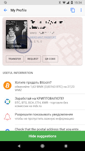 WebMoney Keeper App Latest Version Download For Android and iPhone 5