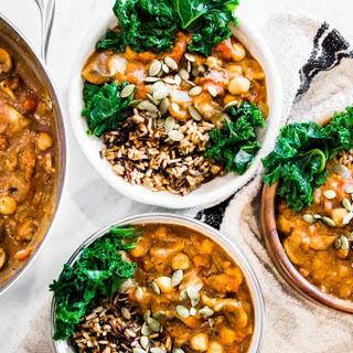 Pumpkin Chili with Wild Rice [Vegan, Gluten-Free] Recipe